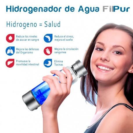 Hydrogénateur d'eau, bouteille d'eau alcaline portable