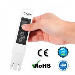 Testeur TDS, électroconductivité et température