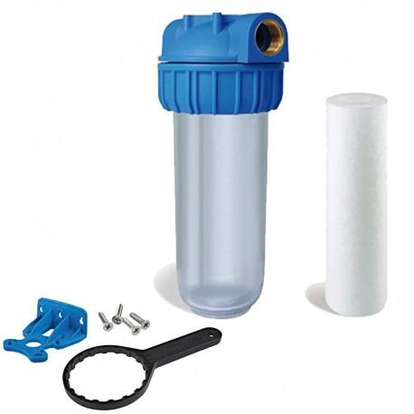 Porta filtre d'entrée d'eau générale Kit pour l'entrée de la maison ou le jardin - 1