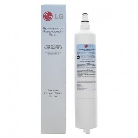 Filtre de réfrigérateur interne d'origine LG LT600P (5231JA2006A - FA-0086U - 5231JA2006B - 5231JA2005A)