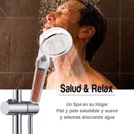 Tête de douche + filtre douche purificateur d'eau FILPUR